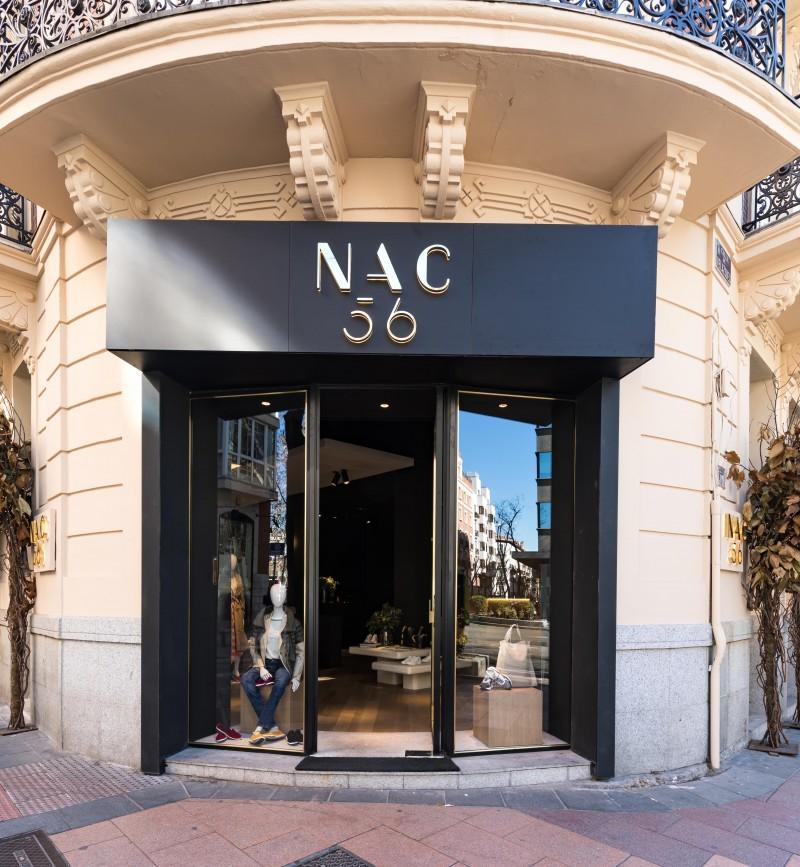 NAC56 nueva tienda de lujo de nAC